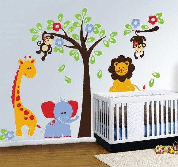 muursticker babykamer dieren ~ lactate for ., Deco ideeën